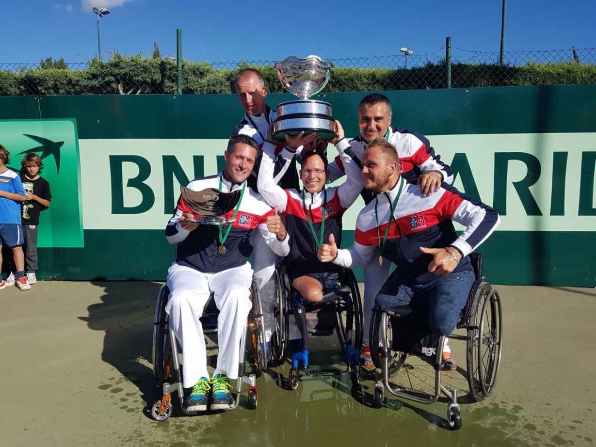 La France remporte la BNP Paribas team Wheelchair world cup 2017